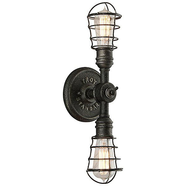 Conduit 2-Light Wall Sconce