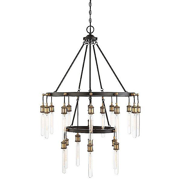 Campbell 21-Light Chandelier