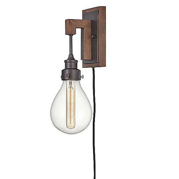 Denton Plug-in Wall Sconce