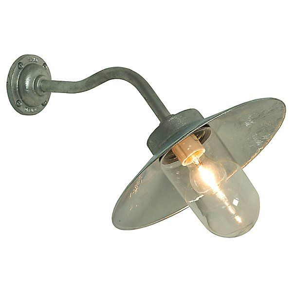Exterior Canted Bracket Wall Sconce