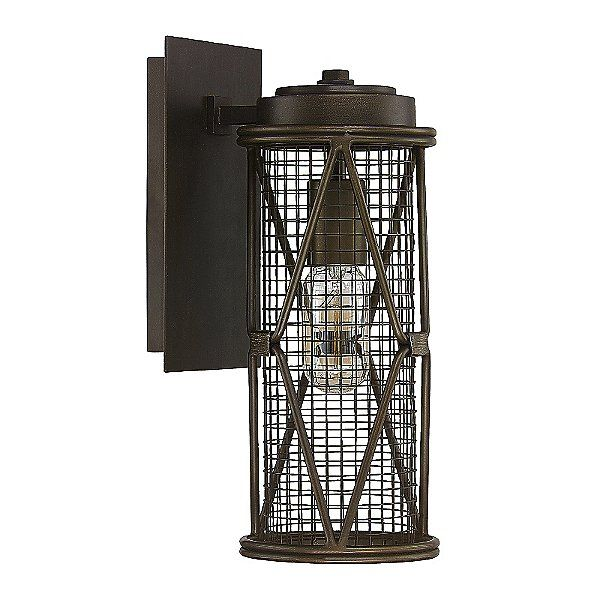Jackson Round Caged Wall Sconce