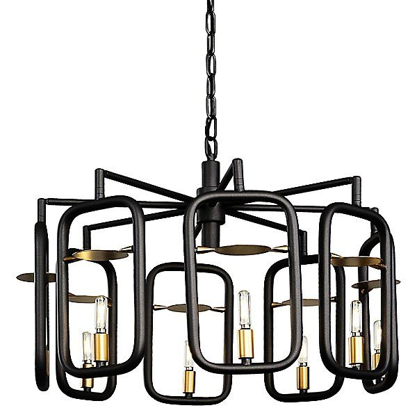 Bar None 8-Light Chandelier